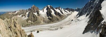 panoramica alpes montblanc