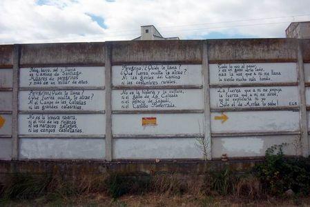 Poesia sobre el Camino de Santiago 1