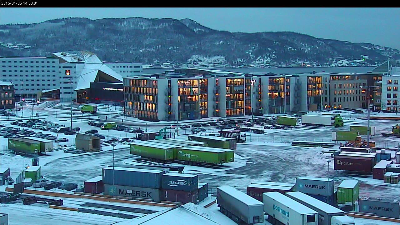 Trondheim - Nidelva Pir Por Trondheim Havn