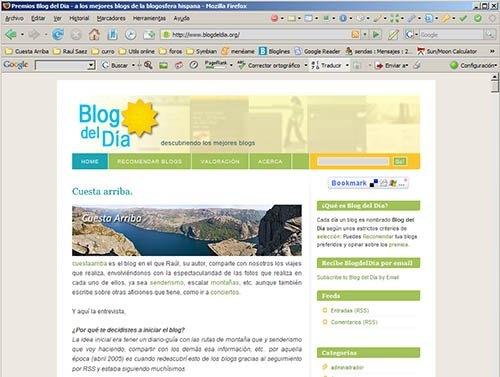 captura pantalla blogdeldia
