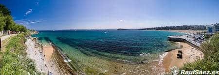 Panoramica playa Sardinero