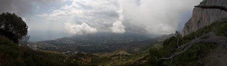 Panoramica desde el Forat