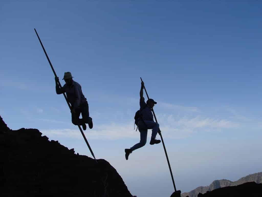 Salto del pastor Canario 1