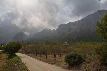 Subida al Forat de la Sierra de Bernia 7