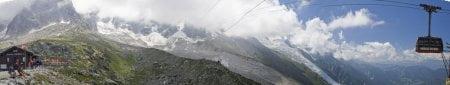 Subida a la Auguille Du Midi en Chamonix 5